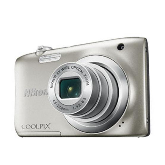 Nikon Camera COOLPIX A100 Silver