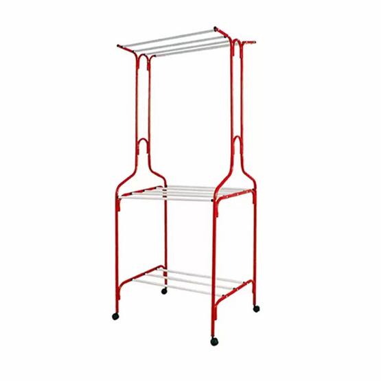 OA Furniture  ราวตากผ้า No.A8 สีแดง