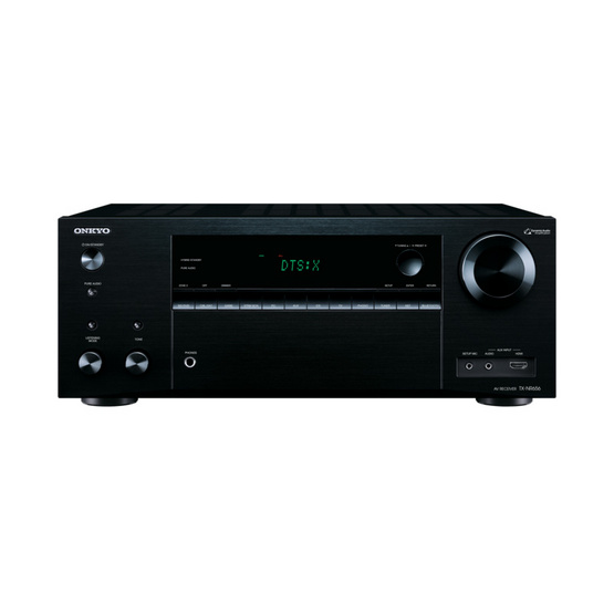 Onkyo 7.2-Channel Network A/V Receiver TX-NR656