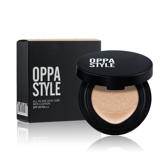 Oppa Style All In One Skin Care Men Cushion SPF50 PA+++ 15g. #01 Fair Skin