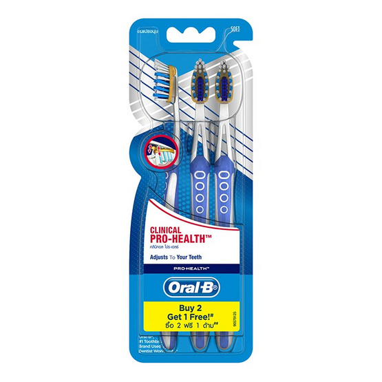 Oral B Clinical Pro Health Pack3 [Soft]