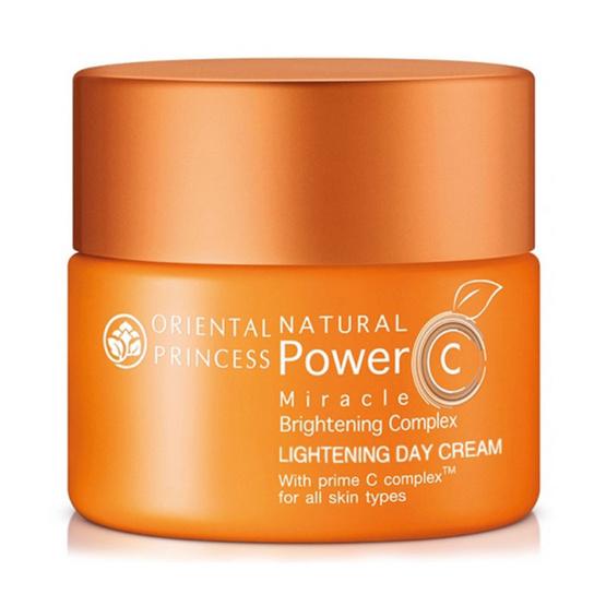 พร้อมส่ง !! Oriental Princess Natural Power C Miracle Brightening Complex Lightening Day Cream 50g - Oriental princess, ผลิตภัณฑ์ความงาม