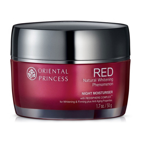 ซื้อที่ไหน !! Oriental Princess RED Natural Whitening Phenomenon Night Moisturiser 50g - Oriental princess, ผลิตภัณฑ์ความงาม