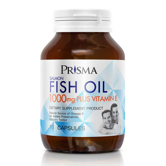 PRISMA SALMON FISH OIL 1000MG 70 เม็ด