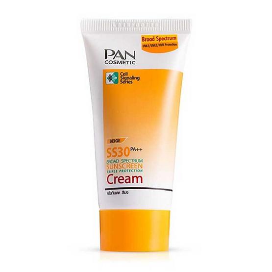 Pan SPF30 Broad Spectrum Sunscreen Cream 30g.#Beige