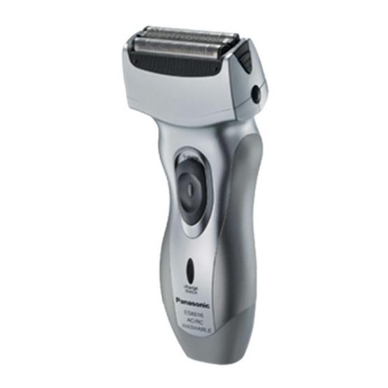 Panasonic เครื่องโกนหนวดแบบชาร์จไฟ (Men's shaver (Rechargeable)) รุ่น ES-6016