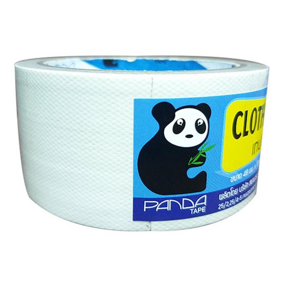 PandaTape เทปผ้าขาว 12 ม้วน