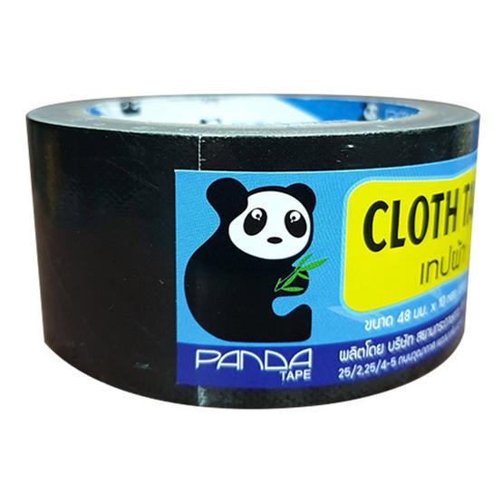 PandaTape เทปผ้าดำ 12 ม้วน