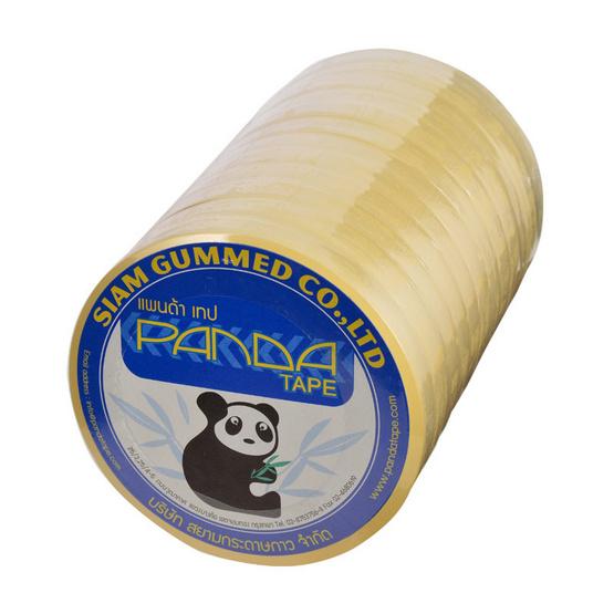 PandaTape เทปโอพีพีใส แพค 12 ม้วน 24 แพค/กล่อง