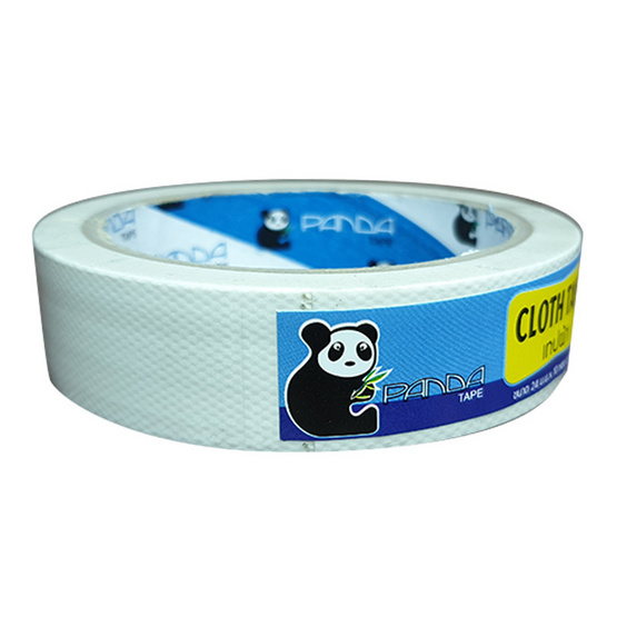 PandaTape เทปผ้าขาว 24 ม้วน