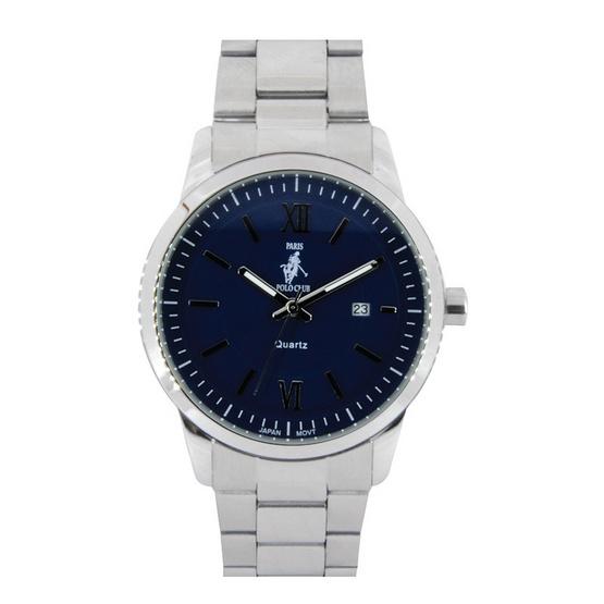 ซื้อ Paris Polo Club นาฬิกาข้อมือ รุ่น 3PP-1504223GT-BU สีน้ำเงิน