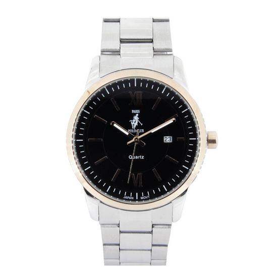 ซื้อ Paris Polo Club นาฬิกาข้อมือ รุ่น 3PP-1504224GT-BK สีดำ
