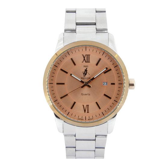 ซื้อ Paris Polo Club นาฬิกาข้อมือ รุ่น 3PP-1504224GT-RG สีส้ม