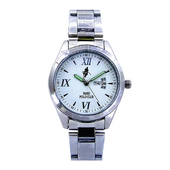 ซื้อ Paris Polo Club นาฬิกาข้อมือ 3PP-1504227G ขาว