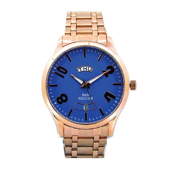 ซื้อ Paris Polo Club นาฬิกาข้อมือ 3PP-1504233G ชมพูทอง