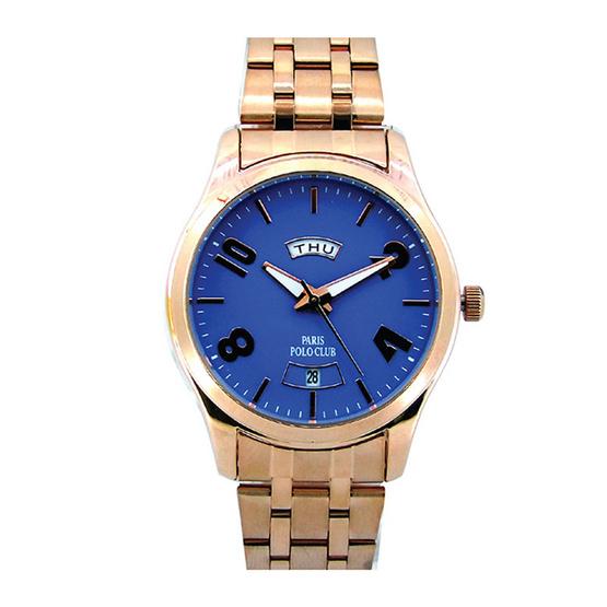 ซื้อ Paris Polo Club นาฬิกาข้อมือ 3PP-1504233L ชมพูทอง