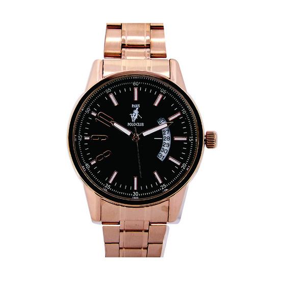 ซื้อ Paris Polo Club นาฬิกาข้อมือ 3PP-1504237G ชมพูทอง