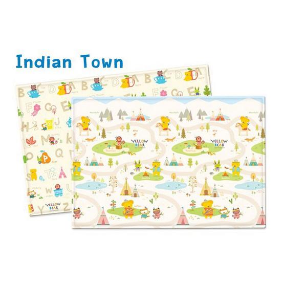 Parklon แผ่นรองคลาน Pure Soft Mat Indian Town M