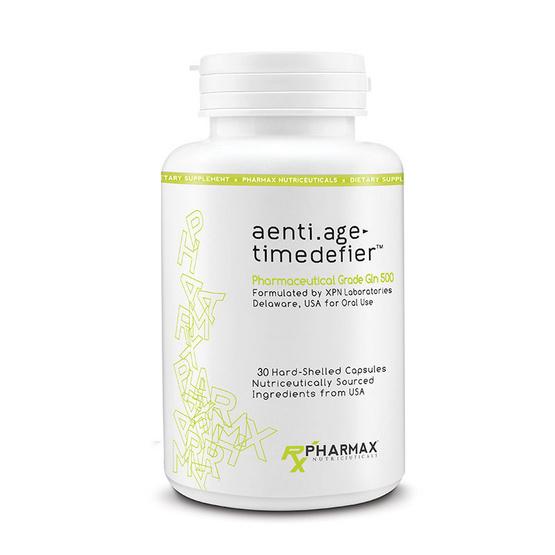 Pharmax aenti.age timedefier แอล-กลูตามีน บรรจุ 30 แคปซูล