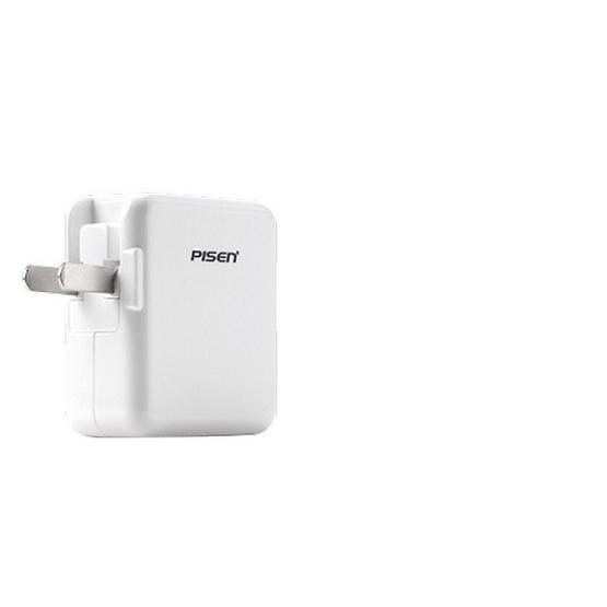 Pisen อแดปเตอร์ชาร์จไฟ รุ่น Dual USB iPad Charger