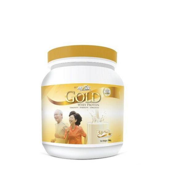 ProFlex Gold เวย์โปรตีนสำหรับผู้สูงอายุ ขนาด 700 กรัม.