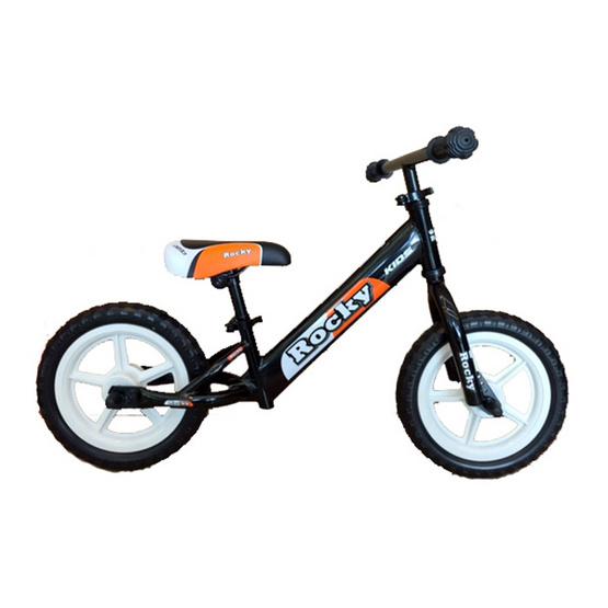 ROCKY KIDS จักรยานฝึกการทรงตัว จักรยานขาไถ แถมฟรีแตรและกระจกมองหลัง