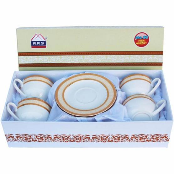 ซื้อ RRS ชุดแก้วกาแฟเซรามิก 4 ใบ/ชุด ในกล่องของขวัญ
