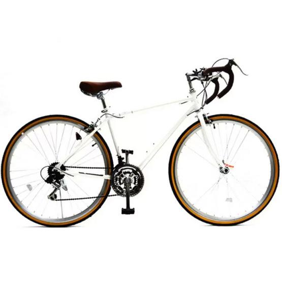 Raychelll จักรยานเสือหมอบ แบรนด์นำเข้าจากญี่ปุ่น รุ่น RD 7021AL สีขาว