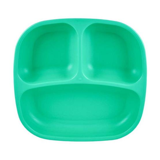 Re-Play จานหลุมสำหรับเด็ก สีเขียวอมฟ้า