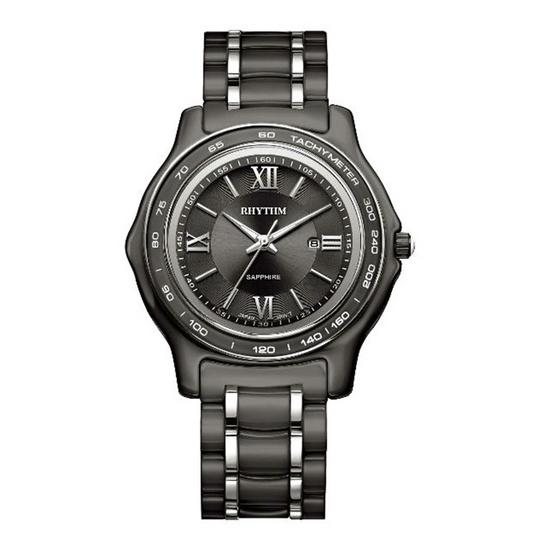 Rhythm นาฬิกาข้อมือ รุ่น Ceramic C1101C03