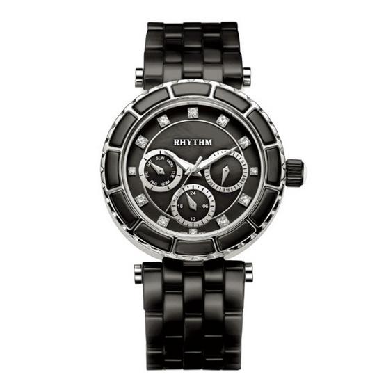 Rhythm นาฬิกาข้อมือ รุ่น Ceramic C1103C04