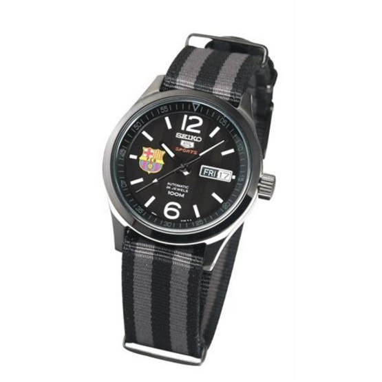 SEIKO นาฬิกาข้อมือ 5 FC Barcelona Special Edition SRP321K1