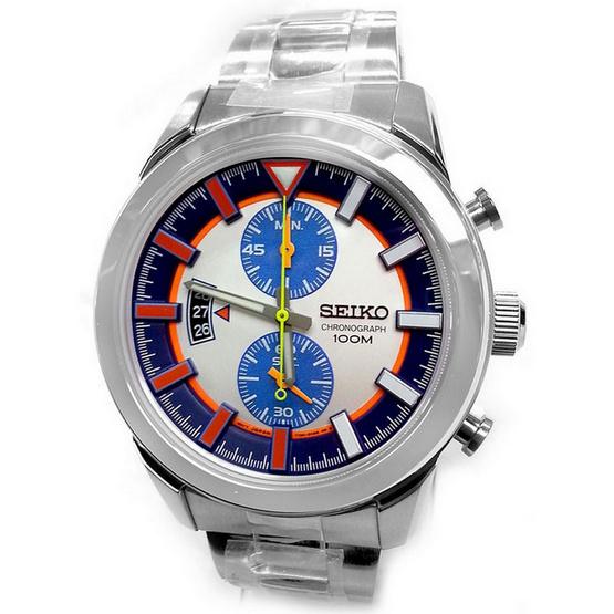 SEIKO นาฬิกาข้อมือ Chronograph Men Watch รุ่น SNN283P1