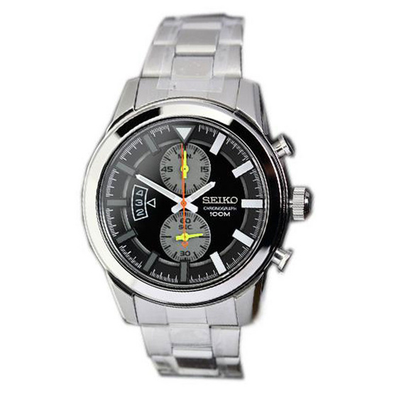 SEIKO นาฬิกาข้อมือ Chronograph รุ่น Men Watch SNN289P1 (พิเศษ ผ่อน 0% 4เดือน หรือ 6เดือน)