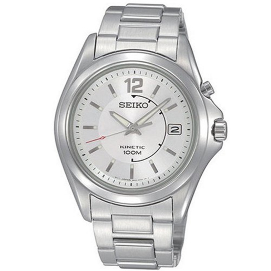SEIKO นาฬิกาข้อมือ Kinetic Men Watch SKA475P1