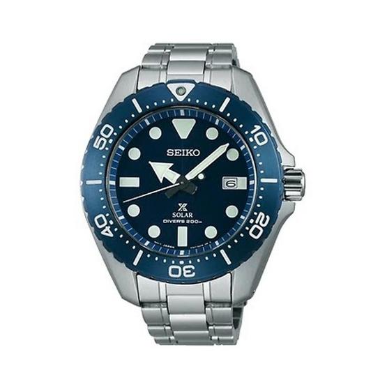 SEIKO นาฬิกาข้อมือ Prospex Solar Diver Titanium รุ่น SBDJ011