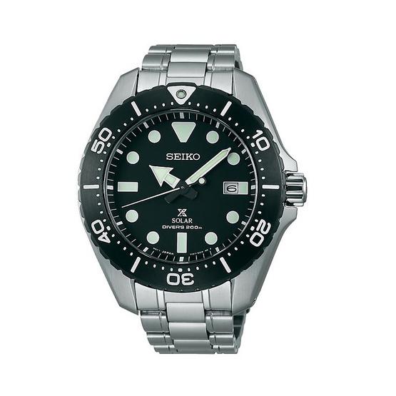 SEIKO นาฬิกาข้อมือ Prospex Solar Diver Titanium รุ่น SBDJ013