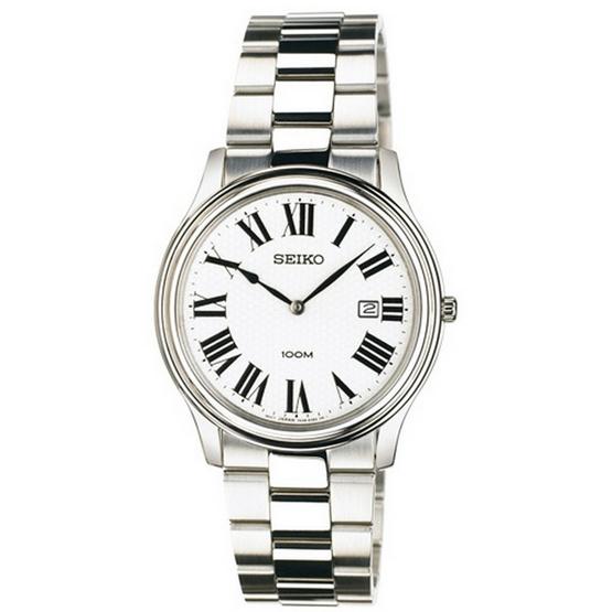 SEIKO นาฬิกาข้อมือ Sapphire Men Watch SKP345P1