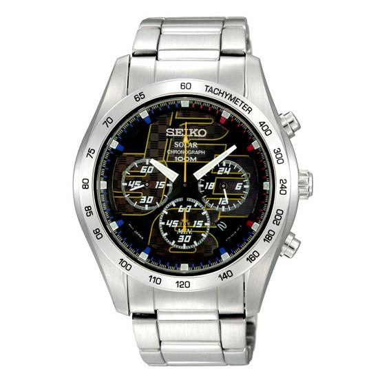 SEIKO Solar Chronograph Watch รุ่น SSC061P1