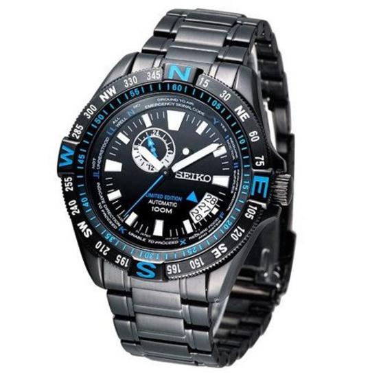 SEIKO นาฬิกาข้อมือ Superior Explorer Limited Edition SSA115K1 แถมสาย (ผ่อน 0% นาน 6 เดือน หรือ 4 เดือน)