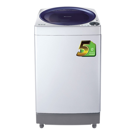 SHARP เครื่องซักผ้าฝาบน ES-U80GT-A  8KG.