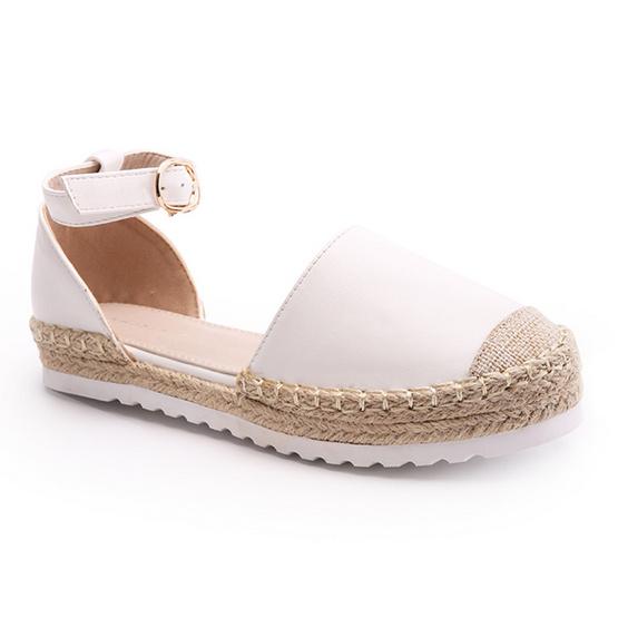 ซื้อ SHUBERRY รองเท้าแฟชั่นส้นแบน รุ่น CHIC17001R สีขาว