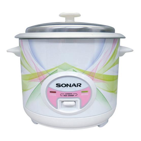 SONAR หม้อหุงข้าว ขนาด 1ลิตร รุ่น SR-C401