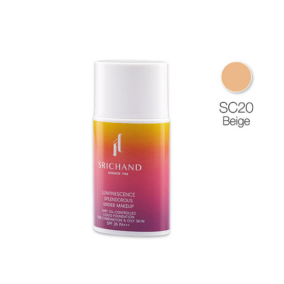 SRICHAND Luminescence Splendorous Under Makeup 30ml. #SC20 Beige