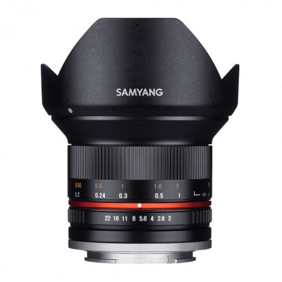 Samyang Lens 12mm / F2.0 Sony E Black