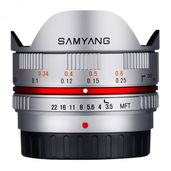 Samyang Lens 7.5mm / F3.5 MFT Silver