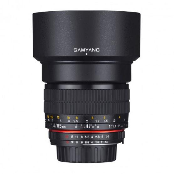 Samyang Lens 85mm / F1.4 Nikon AE