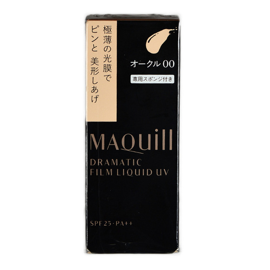 Shiseido Maquillage Dramatic Film Liquid Foundation UV SPF 25 PA++ 30 ml.#OC00