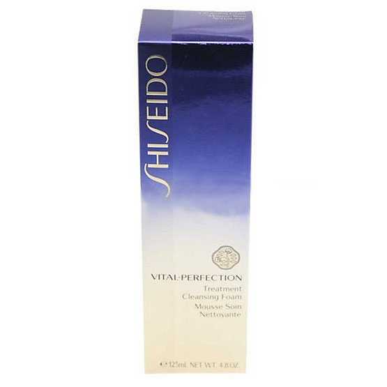 Shiseido Vital-Perfection Treatment Cleansing Foam 125 ml.