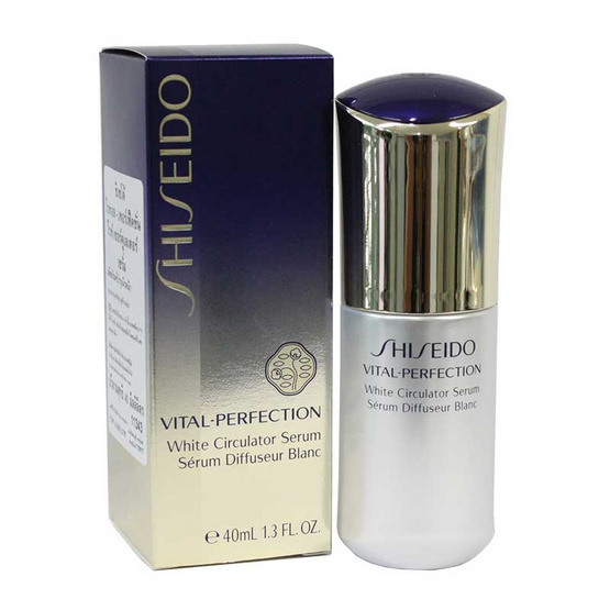 รีวิว !! Shiseido Vital Perfection White Circulator Serum 40 ml - Shiseido, ผลิตภัณฑ์ความงาม